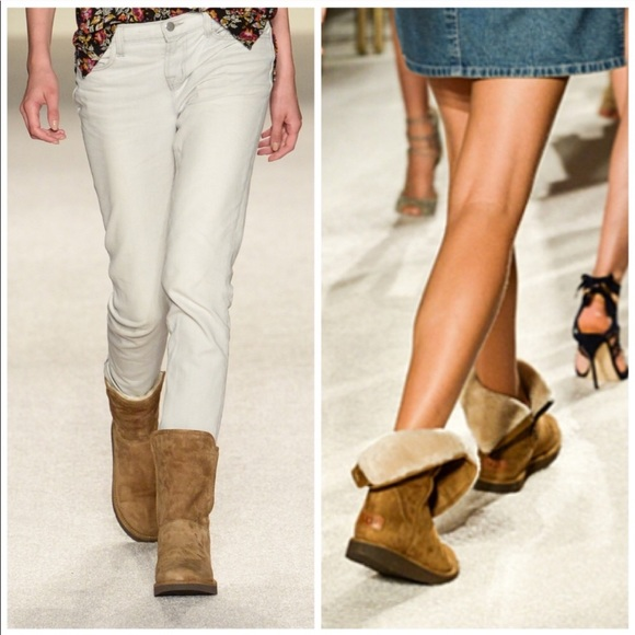 """b2aae97d116 UGG """"The Classic Luxe"""" Abree Short higher end line"""